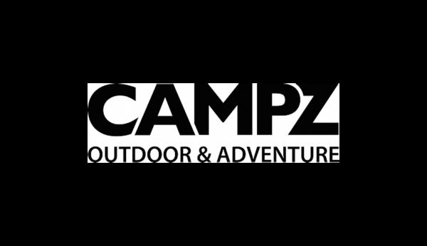 Das Bild zeigt das Logo von Campz Outdoor & Adventure. Campz gehört zu den epoq Kunden.