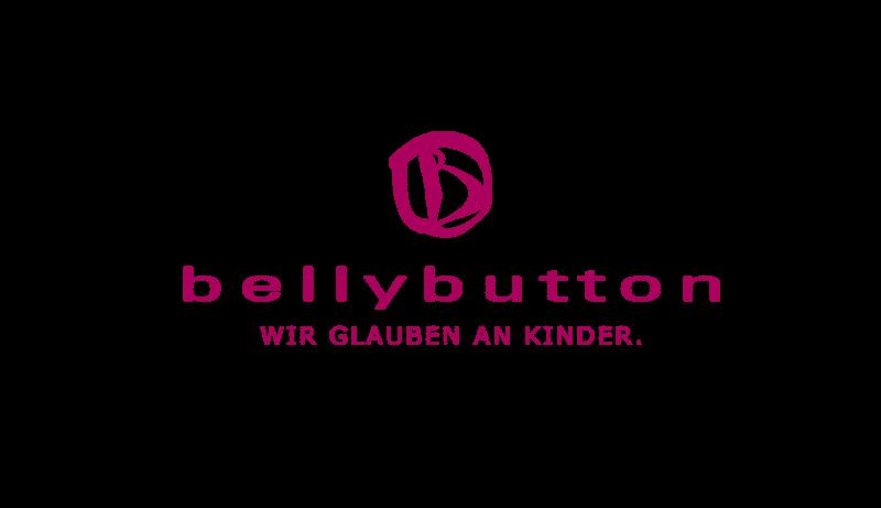 Das Bild zeigt das Logo von bellybutton. Der Online Shop gehört zu den epoq Kunden.