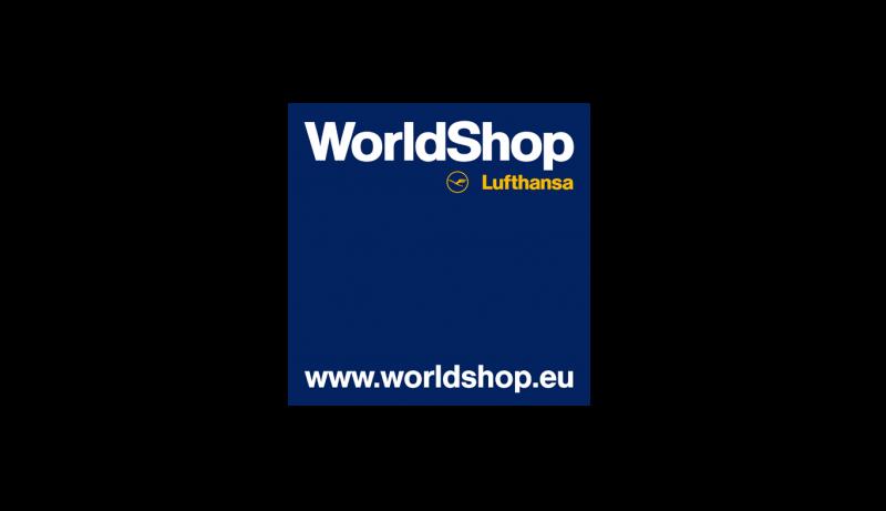 Das Bild zeigt das Logo von World Shop. Der Online Shop hat durch epoq Services das Einkaufserlebnis seiner Kunden verbessert.