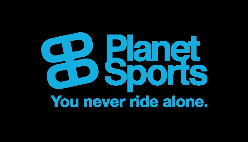 Das Bild zeigt das Logo von Planet Sports. Der Online Shop gehört zu den epoq Kunden.