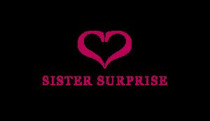 sister surprise Logo als Referenz der Welt Inspirieren durch personalisierte Empfehlungen. Sister surprise gehört zu den epoq Kunden.