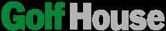Das Bild zeigt das Logo von GolfHouse. Der Online Shop gehört zu den epoq Kunden.
