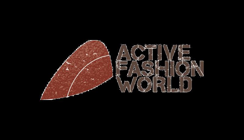 Das Bild zeigt das Logo von Active Fashion World. Der Online Shop gehört zu den epoq Kunden.