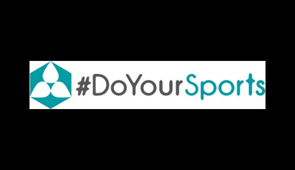 Das Bild zeigt das Logo von #DoYourSports. DoYourSports gehört zu den epoq Kunden.