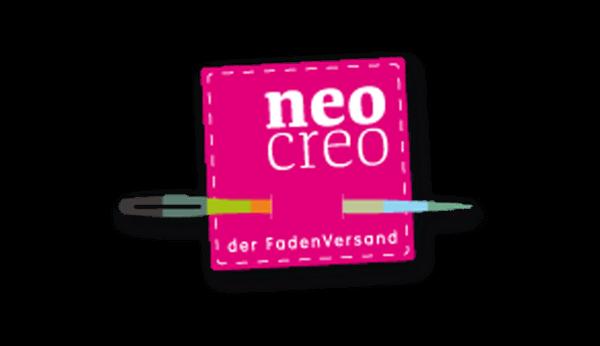 Das Bild zeigt das Logo von neocreo. Der Online Shop gehört zu den epoq Kunden.