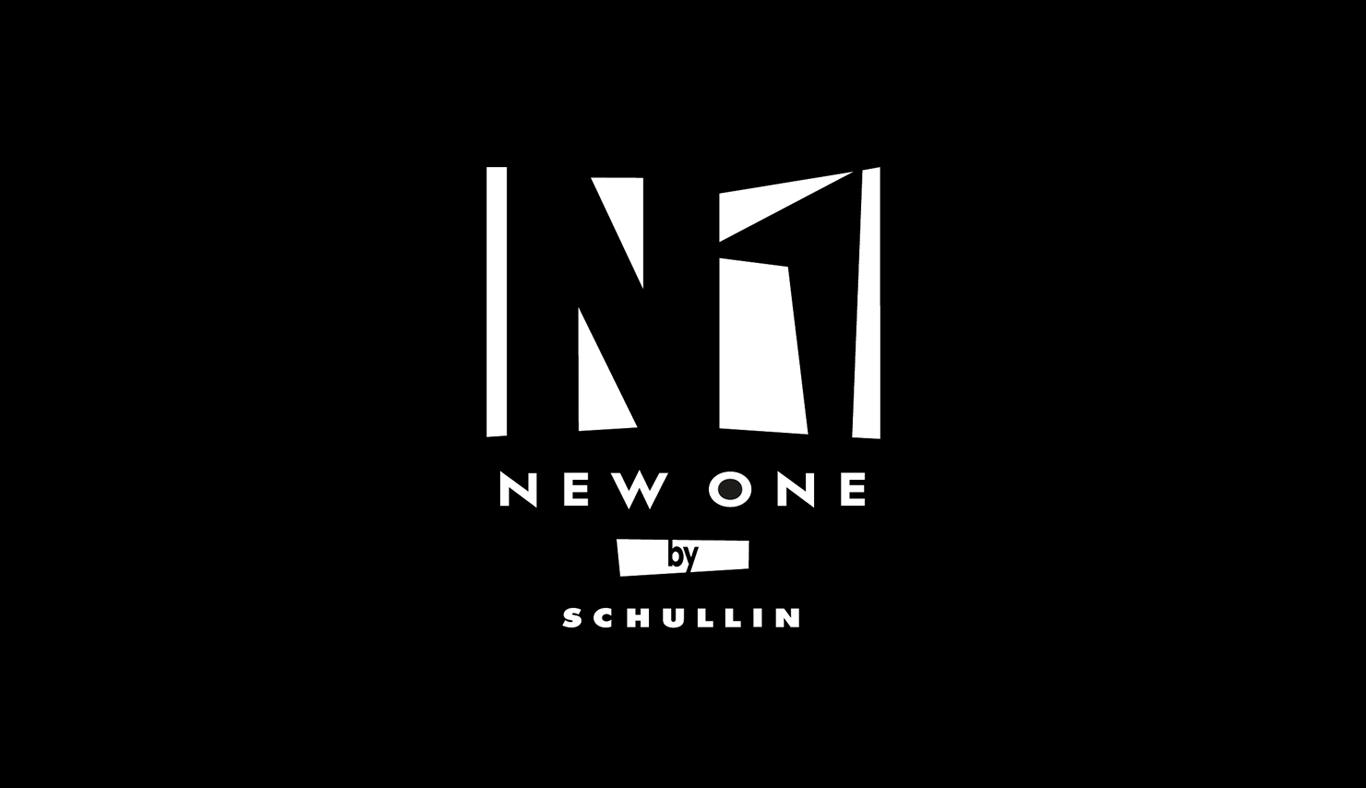 Das Bild zeigt das Logo von New One by Schullin. Der Online Shop gehört zu den epoq Kunden.