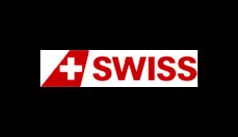 Das Bild zeigt das Logo vom Swiss Shop. Der Online Shop gehört zu den epoq Kunden.