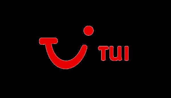 Das Bild zeigt das Logo von TUI. TUI gehört zu den epoq Kunden.