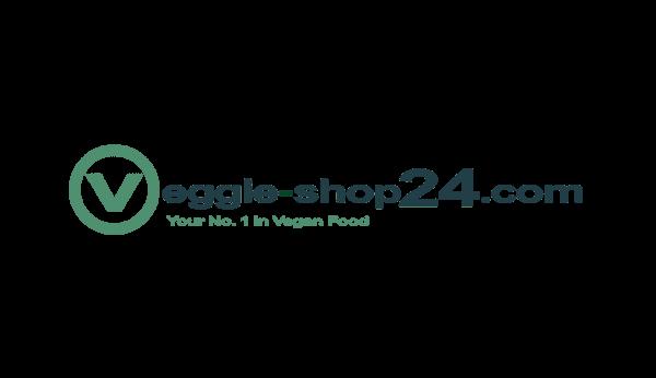 Das Bild zeigt das Logo vom Veggie-Shop24. Er gehört zu den epoq Kunden.