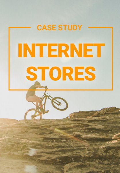 Preview image for the case study on increasing sales at internetstores, which fits in with the topic of Reinforcement Learning.