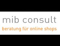 Dargestellt wird das Logo von mib consult. Mib consult ist ein E-Commerce Partner von epoq.
