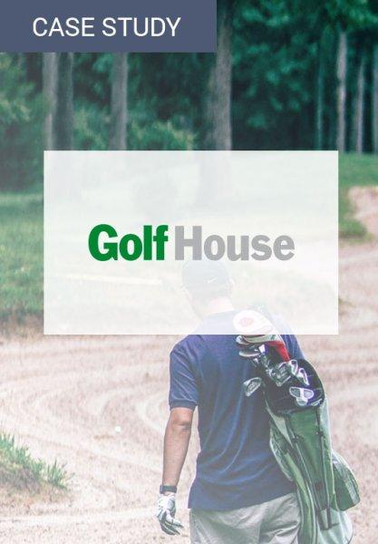 Vorschaubild der Case Study zur Traffic-Steigerung bei Golf House durch die personalisierte E-Mail, die hilfreiche E-Mail-Marketing-Tipps enthält.