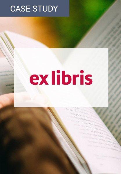 Vorschaubild der Case Study zur Umsatzsteigerung von Ex Libris. Zur Bewertung von Veränderungen im Online Shop kann E-Commerce-Analytics eingesetzt werden.