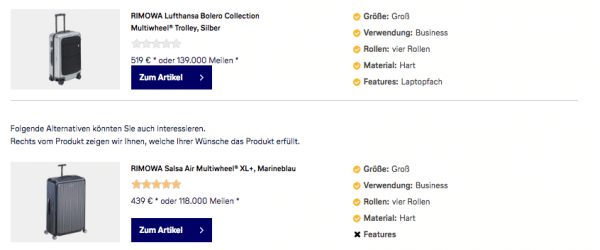 Guided Selling im E-Commerce mit einer Reasoning-Funktion