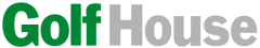 The image shows the logo of GolfHouse