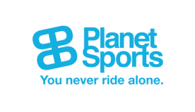 The image shows the logo of Planet Sports