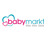 The image shows the logo of the online shop babymarkt. babymarkt is one of epoq's customers.