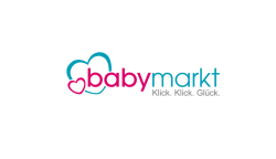 The image shows the logo of babymarkt who improved their customer's shopping experience thanks to epoq