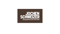 The image shows the logo of JOCHEN SCHWEIZER who improved their customer's shopping experience thanks to epoq