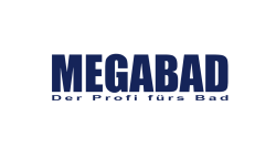 The image shows the logo of MEGABAD who improved their customer's shopping experience thanks to epoq