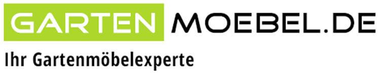 Das Bild zeigt das Logo von Gartenmoebel.de, einem epoq Kunden.