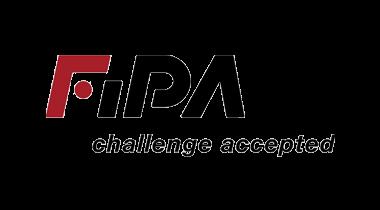 Das Bild zeigt das Logo von FIPA. Der Online Shop gehört zu den epoq Kunden.